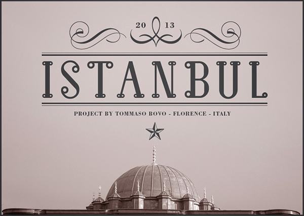 Istanbul Font serif | type designer Tommaso Bovo | www.tommasobovo.com