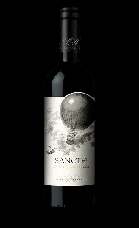Wine label Chianti Classico | graphic design www.tommasobovo.com