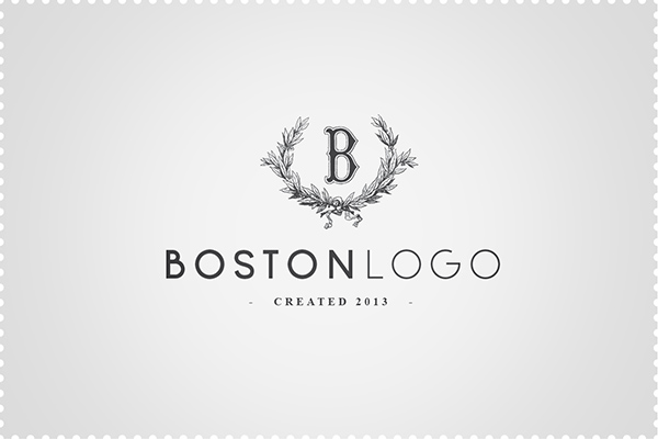 Boston font logo | graphic www.tommasobovo.com