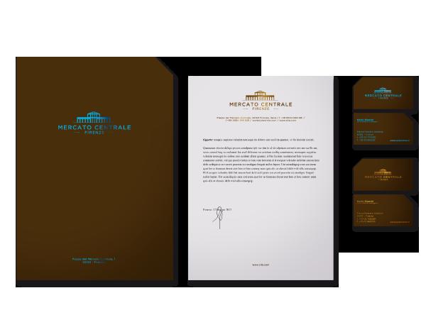 Immagine coordinata Mercato Centrale proposta progettuale | grafica Tommaso Bovo