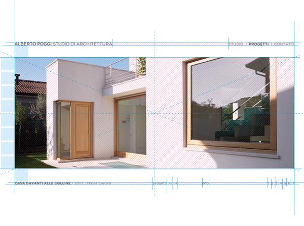 griglia sito | web design Tommaso Bovo