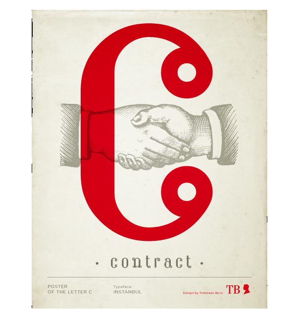 Istanbul contract | type designer Tommaso Bovo | www.tommasobovo.com