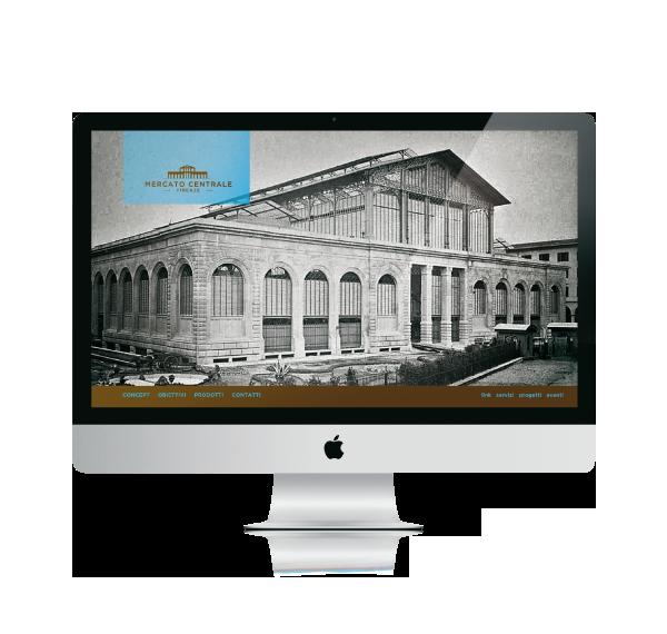 Mercato Centrale proposta web | grafica Tommaso Bovo