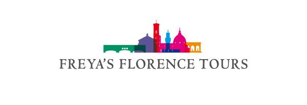 Logo Freya's Florence Tours | graphic design Tommaso Bovo | www.tommasobovo.com