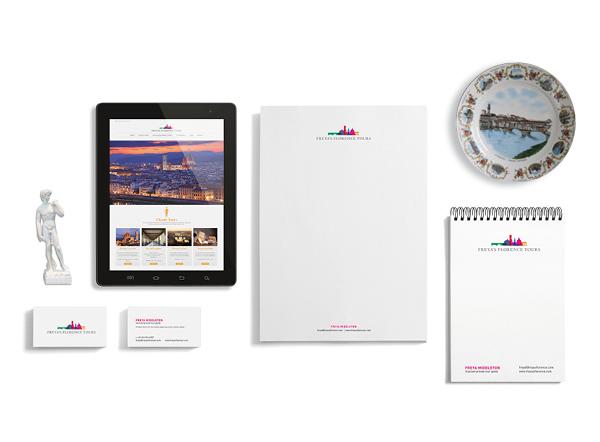 Branding for Freya's Florence Tours | graphic design Tommaso Bovo | www.tommasobovo.com